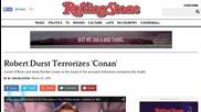 Robert Durst Terrorizes 'Conan'