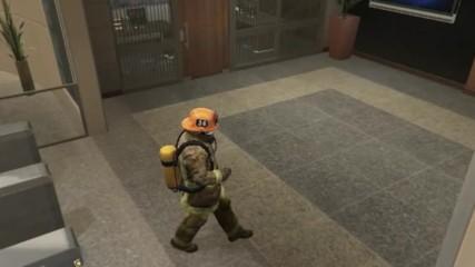 Gta V Обир в сградата на Фбр