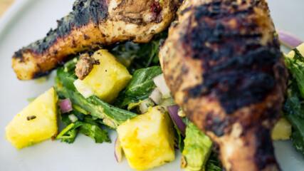 Пиле джърк с ананасова салца | Гай Търланд | 24Kitchen Bulgaria