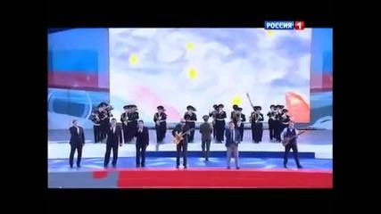 Любэ - Красная армия всех сильней