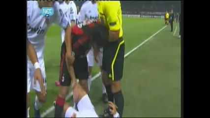 Cristiano Ronaldo vs Abate ( Milan - Real Madrid 3 - 11 - 2010 )