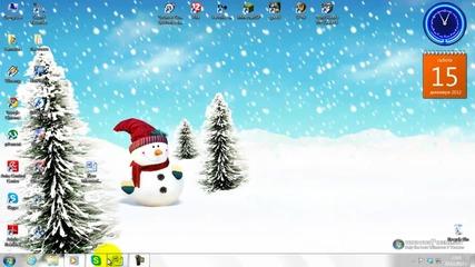 Как Да Си Смалим Иконите На Десктопа (за Windows 7)