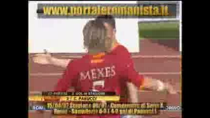 Рома - Сампдориа (4 - 0 Пануци)