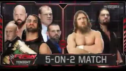 Wwe Raw [highlights]/ Първична Сила 09.01.2015 [избрани моменти]