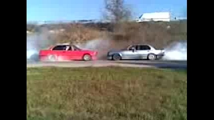 Dvete E30 Burnout