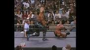 Голдбьрг vs Хоуган Mач за титлата в тежка