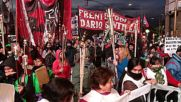 Argentina: Thousands of torch-wielding protesters decry Marci's cuts