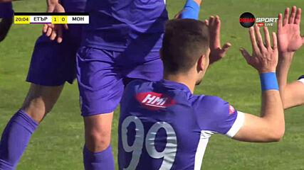 Етър дръпна в резултата с гол на Преслав Боруков