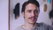 Джеймс Франко агитира феновете си през Инстаграм