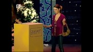 Сервитьорката с диалекта пред банкомат-комиците