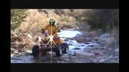 Can Am 800r Renegade. Crossing a River