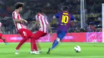Leo Messi 2012 -извънземен {hd}