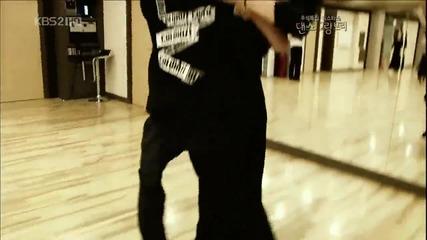 100923 Taemin tango practice