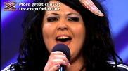 21 годишно Момиче пее прекрасно песен на Адел .. Jade Richards - The X Factor