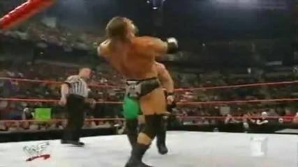 Крис Джерико vs Стефани Макмеън vs Трите Хикса - Raw-2002