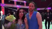 Dancing Stars - Дарин и Ани след спасяването им (24.04.2014г.)