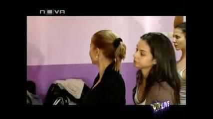 Vip Dance 16.11.2009 - Отборите на Симона и Крум и Фери и Райна