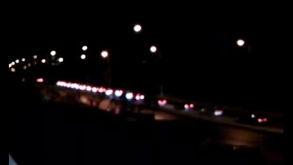 Протест в Сливен над 400 автомобила !!! Конвой !!!