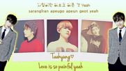 Bts-love Is Not Over [hangul-rom-eng Lyrics]