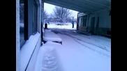 дрифт на сняг