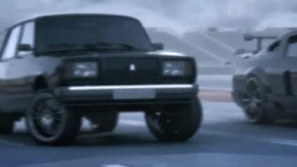 Shelby Kitt vs Vaz 2107 drag