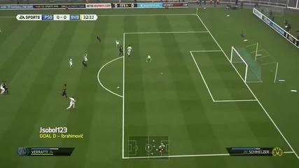 Fifa 14 - Най-добрите голове за седмицата - Рунд 24