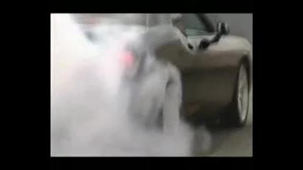 Dodge Challenger Burnout