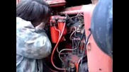Как Се Пали Трактор С Пусков Двигател