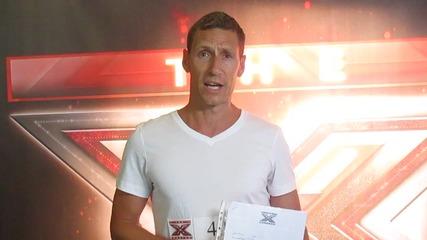 Поздрав за X Factor от UK