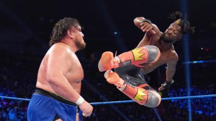 Kofi Kingston vs. Samoa Joe: SmackDown LIVE, July 23, 2019