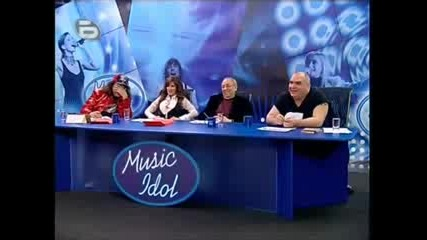 Music Idol 2 Радос Жабарова - Химията