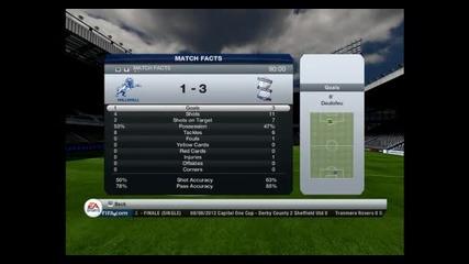 Fifa 13 - Manager mode S1 Ep2 Birmingham City - Нотингам.