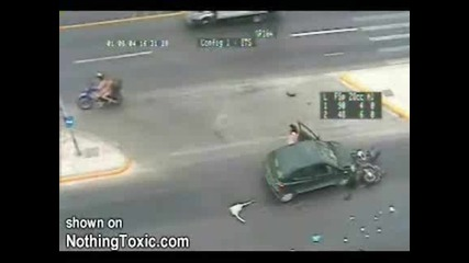 Ужасно!!!! Жена За Малко Да Убие Човек С Колата Си