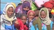 Italian Rescuers Save 144 Migrants From Capsized Boat in Sea Near Libya