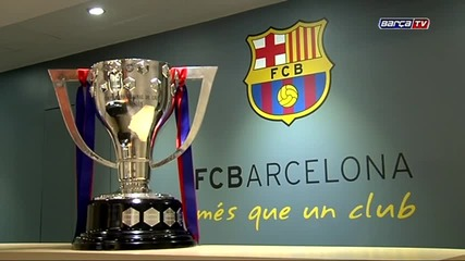 Купата е наша! /la Liga cup is at Camp Nou