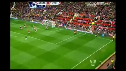 Манчестър Юнайтед - Стоук Сити 4:2 ( Англия, Висша лига (20-10-2012)