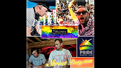 Pride Brighton Shortts Bar Street Party 2018 Saturday Part 1