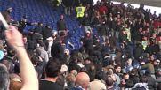 Бой между тифозите на Рома и Лацио - Riots Derby Roma Against Lazio Rissa Tifosi