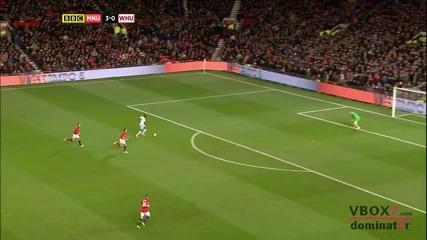 21.12.13 Манчестър Юнайтед 3 - 1 Уест Хям Юнайтед - Най-доброто от мача