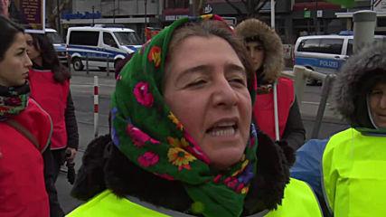 Germany: Strasbourg-bound Kurdish 'Long March' sets off from Mannheim