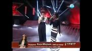 Ана Мария Янакиева и Жана Бергендорф X Factor Bulgaria 2013