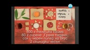 Кюфтета с марсала, въздушни хлебчета, руло с череши. - Бон Апети (11.06.2013)