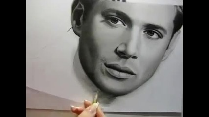 Drawing - Jensen Ackles