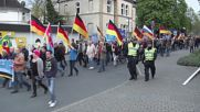 Germany: AfD face off against counter protesters in Umma