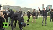 Germany: Police use force to prevent counter-demo in Berlin