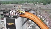 световен рекорд за прелетяно разтояние с кола