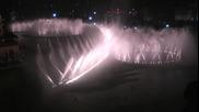 Шоу с фонтани над Дубай