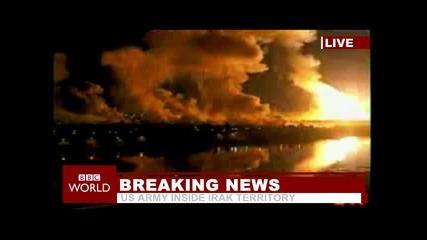Нападението в Ирак 2003 година.
