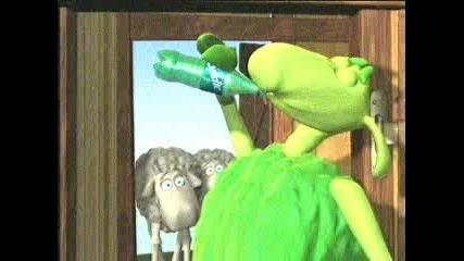Реклама На Sprite -  с овцете