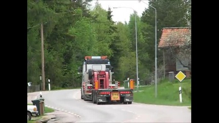 Scania Trucks With V8 Sound, Clip 2